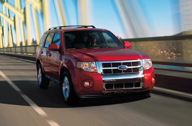 2010 Ford Escape Sangria Red