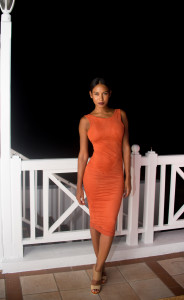 Looking absolutely stunning in orange, this guest was a vision to behold.