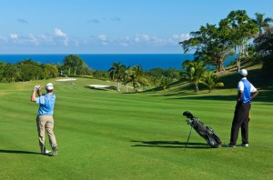 Practice your swing on the greens of the Tryall Club