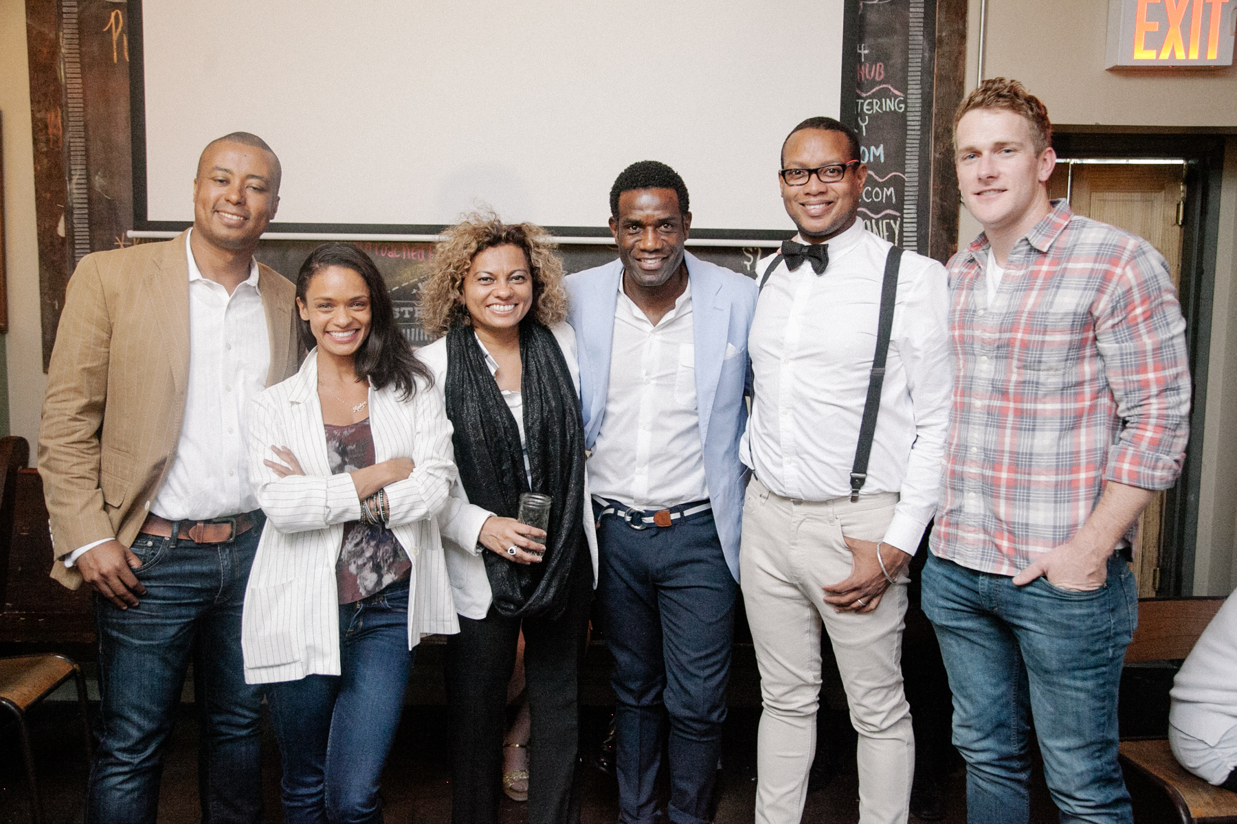 Faride Precile- Director of Communications NAMIC National, Kandyse McClure, Dianne Bisson, Robbie Earle – Former Footballer and TV Host, Ian Royer, Mike Prinville NBC Producer.