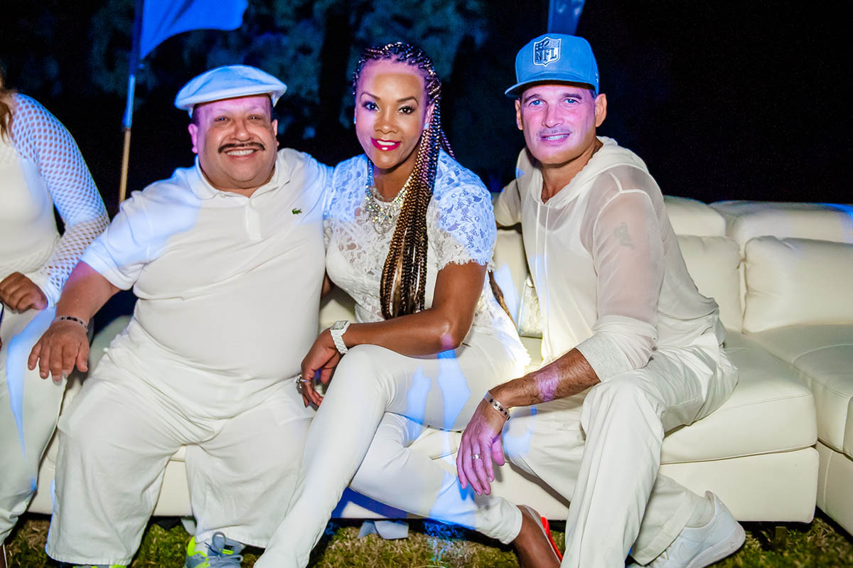 Chuy Bravo, Vivica Fox, Philip Bloch
