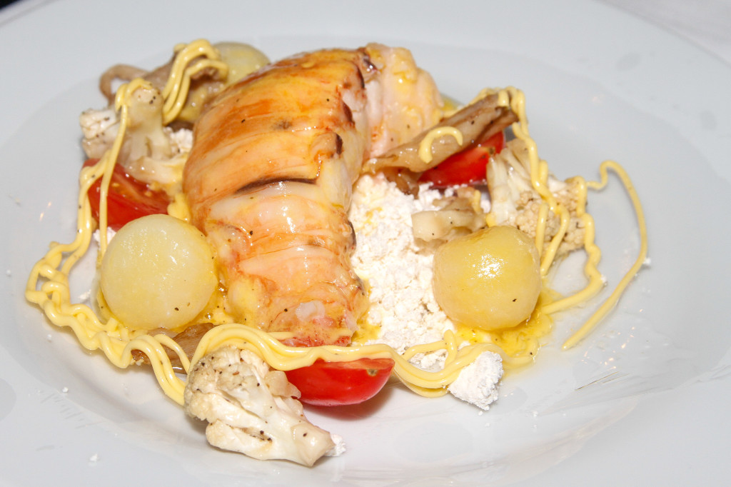 Butter Poached Bahamian Lobster Tail by Chef Tibbits