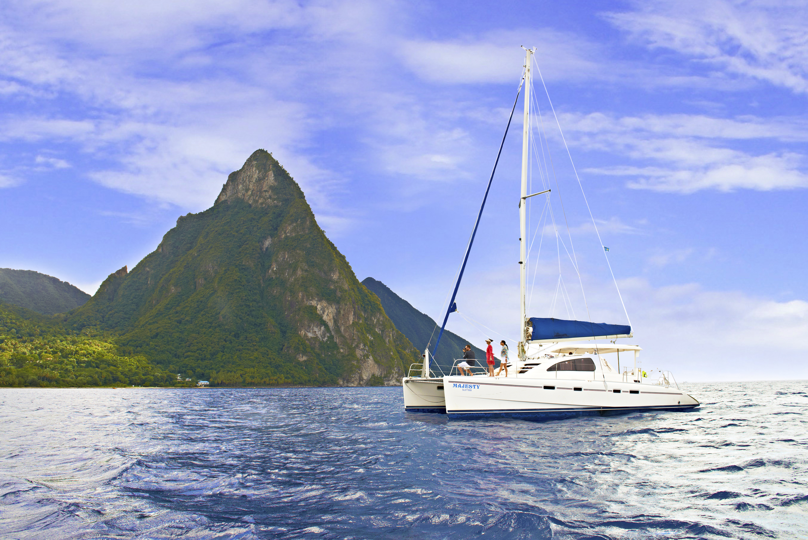 All-Inclusive Catamaran Land & Sea Adventure.