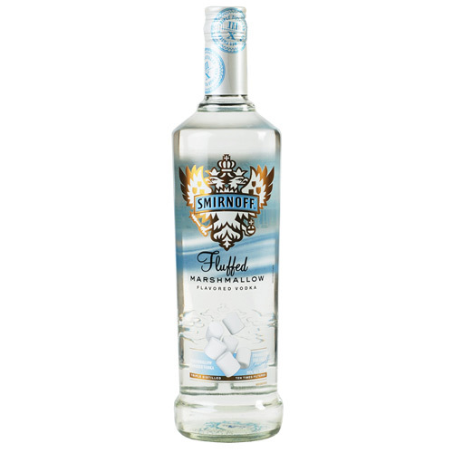 fluffed marshmallow smirnoff for National Toasted Marshmallow Day